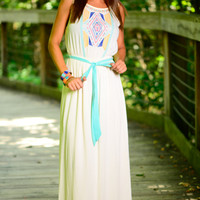 Tribe Time Maxi, Ivory