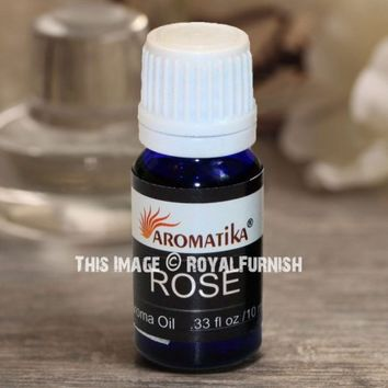 Premium Rose Fragrance Oil - Scented Oil 10 ML on RoyalFurnish.com