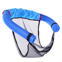 New Swimming Seat Chair Floating Row Floating Bed Kickboard Child Adult Mesh Swimming Ring Stick Swim Pool Fun Toys