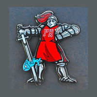 Team Phish PH The Scarlet Knight Pin ~ Rutgers University ~ Scarlet Knights