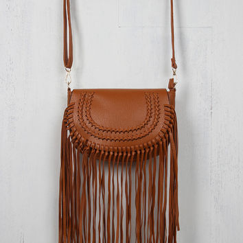 Oak Fringe Vegan Bag