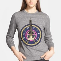 Women's KENZO Embroidered Eiffel Tower Cotton Sweatshirt