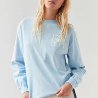 OBEY Nobodys Flower Long-Sleeve Tee - Urban Outfitters