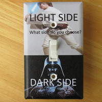 Star Wars Light Side/Dark Side Light Switch Plate Cover