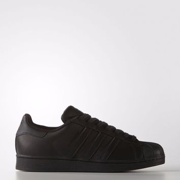 Adidas Originals Mens Superstar Foundation Leather Trainers Black (#9668)