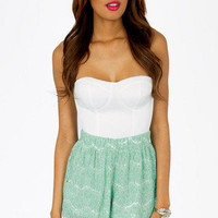 Lace Yourself Shorts $33
