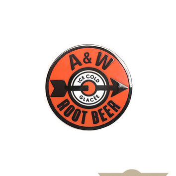 A&W Root Beer Pin