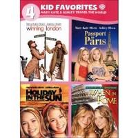 4 Kid Favorites: Mary-Kate & Ashley Travel the World [4 Discs]