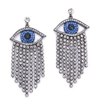 Shay Accessories Crying Eye Earrings