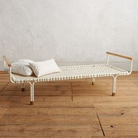 Handwoven Trellis Daybed by Anthropologie in Cream Size: One Size Furniture