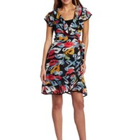 Tiana B Women`s The Waterfall Chiffon Dress $46.99