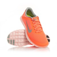 Nike Free 4.0 V3 - Womens Running Shoes - Atomic Orange/Grey/Orange