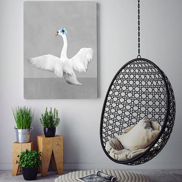 Free to Dream - swan wall art, swan print, printable art, wall art prints, wall art printable, swan art, wall decor prints, wall decor