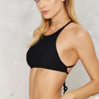 Nasty Gal Butterfly Stroke Mix & Match Bikini Top