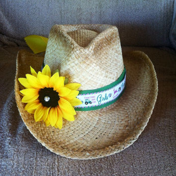 Farmers Daughter Themed Cowgirl Hat