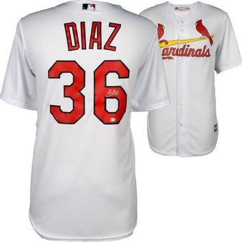 ESBONY Aledmys Diaz Signed Autographed St. Louis Cardinals Baseball Jersey (MLB Authenticated)
