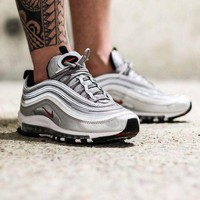 PEAPN6X Nike Air Max 97 'Silver Bullet' Shoes