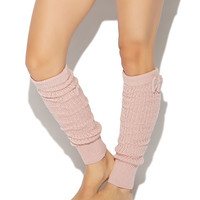 Lurex Bow Legwarmer | Wet Seal