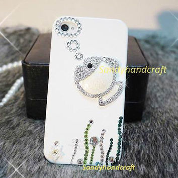 cute iPhone 4 Case, iPhone 5 Case, fish iPhone Case bling cute Phone Cases, iPhone 5 iPhone 4s Case Galaxy Note, Galaxy s4 Case, Galaxy s3