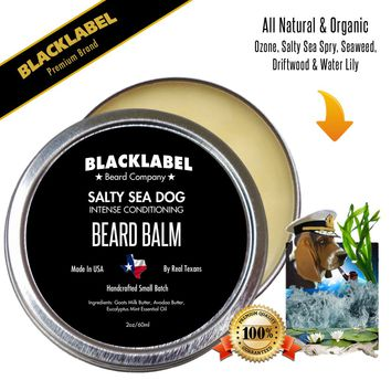 Salty Sea Dog Styling Beard Balm | Premium All Natural Beard Balm