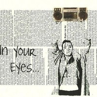 Say Anything In Your Eyes John Cusack Vintage by TheCraftyPirates