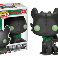 How to Train Your Dragon - Christmas Toothless Pop! Vinyl Figure
