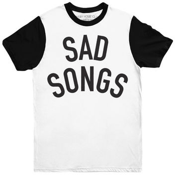 'Sad Songs' Two Tone Shirt