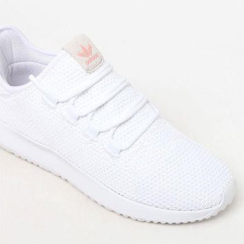 DCCKJH6 adidas Women's White Tubular Shadow Sneakers