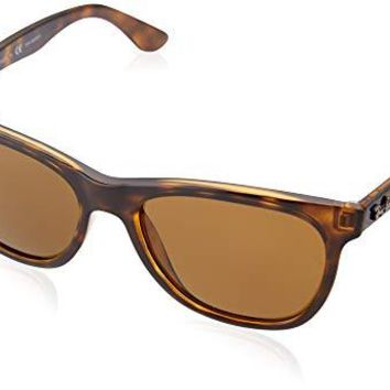 Ray-Ban RB4184 - 710/83 Sunglasses Polarized Light Havana 54mm