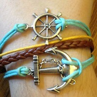 Anchor & Wheel Bracelet from Country Wind