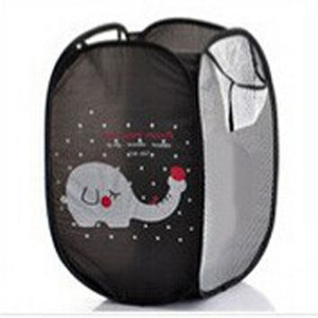 Super Cute - Foldable Pop Up Hamper, Laundry Basket or Toy Chest for Storage - Cartoon Theme