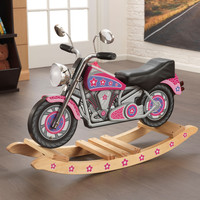 KidKraft Flower Power Rockin' Motorcycle w/ sound - 10019