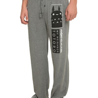 Studio Ghibli My Neighbor Totoro Logo Guys Pajama Pants