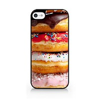 Donut - Doughnut - Bagel - iPhone 5C Black Case (C) Andre Gift Shop