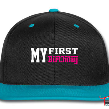 first birthday Snapback