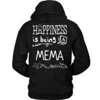 Happiness is Being Mema T-Shirt - Mema Shirt