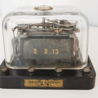 Antique Western Electric railroad telephone telegraph by mwest0425
