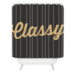 Allyson Johnson Classy And Glittering Shower Curtain