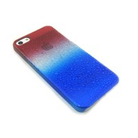 Mobling iPhone 5 Accessory Packs (Patriotic, USA, 4th of July, American Flag, Red/White/Blue Splash Series Case)