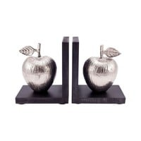 Traditions Set of 2 Bookends Black,Silver