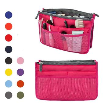 2017 Fashion Travel Women Cosmetic Bag Beautician Necessaries Make Up Bags Ladies Toiletry Tote Organizer Case