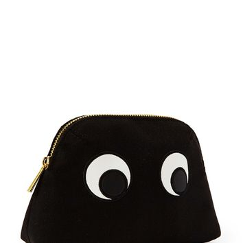 Googly-Eyed Makeup Bag
