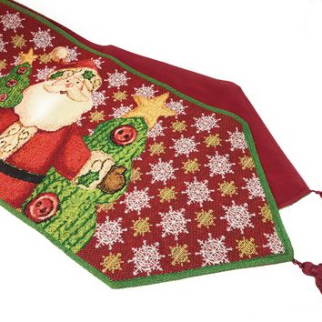 Tache Santa Clause Is Coming to Town Table Runners