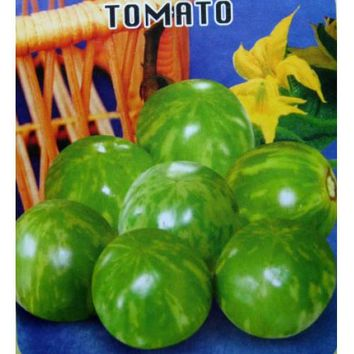 100 count Hot Item!! Green Face Colored Tomato Seeds, Healthy Vegetable