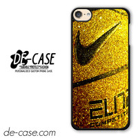 Nike Basketball Ball Gold Glitter DEAL-7777 Apple Phonecase Cover For Ipod Touch 6