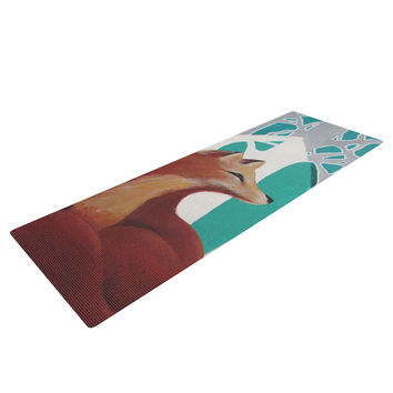 "Lydia Martin ""Fox Forest"" Yoga Mat"