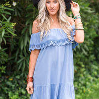 Periwinkle-Roots Dress