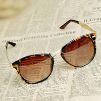 Cat Eye OverSized Round Sunglasses HY
