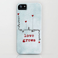 love grows  iPhone Case by ingz | Society6