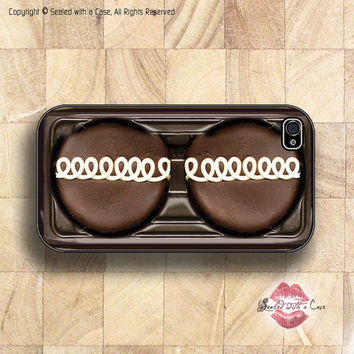Chocolate Cupcake - iPhone 4 Case, iPhone 4s Case and iPhone 5 case